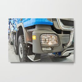 Modern large truck Metal Print
