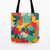 camo Tote Bags featuring Aloha Camo by Picomodi