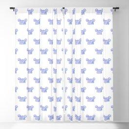 Mouse Ear Beanie Pattern Blackout Curtain