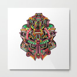 Maniac monster Metal Print