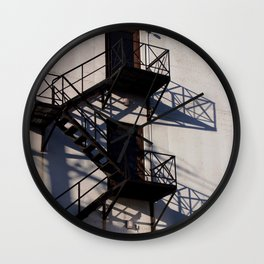 Urban Geometric Wall Clock