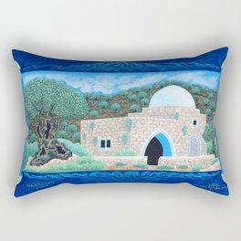 BNC#2005-010-Rachel's-Tomb. Rectangular Pillow