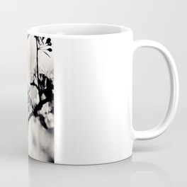 Black and White Flowers Coffee Mug
