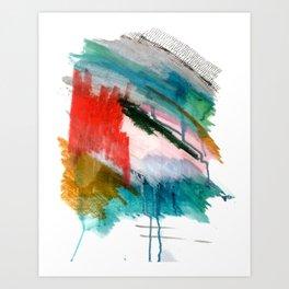 Happiness - a bright abstract piece Kunstdrucke