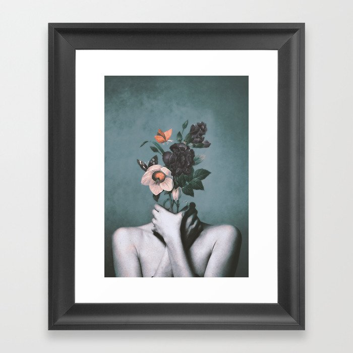 inner garden 3 Framed Art Print