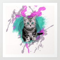 Void Kitten Art Print