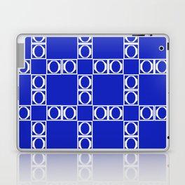 angle blue & yellow Laptop & iPad Skin