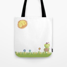 Little Frog Tote Bag