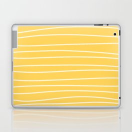 Sunshine Brush Lines Laptop & iPad Skin