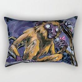 Golden Monkey Rectangular Pillow