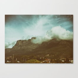 Over the Mountain Canvas Print