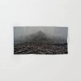 Foggy dawn at Giant's Causeway Hand & Bath Towel