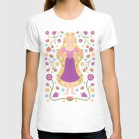 rapunzel T-shirts featuring Rapunzel by Carly Watts
