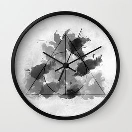 The Gifts Black and White Version Wall Clock