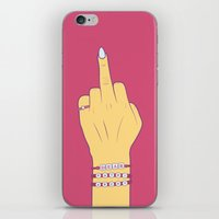 patriarchy iPhone & iPod Skins featuring Dear Patriarchy by Charisse