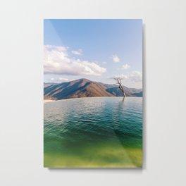 Lake in the Sky Metal Print