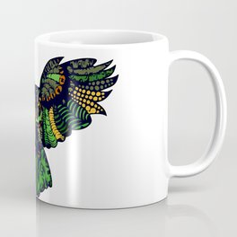 Emerald Green Owl Coffee Mug