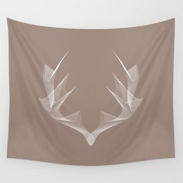 In the Wild - Antlers Wall Tapestry