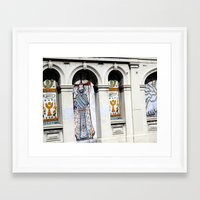 religion Framed Art Prints featuring religion by Hannah