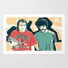 Just some nice guys Art Print