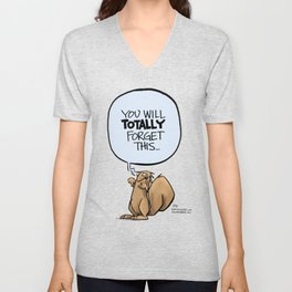 You'll totally forget Unisex V-Neck