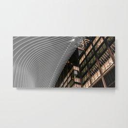 Oculus at night, downtown, Manhattan, New York (2020-5-GNY148) Metal Print