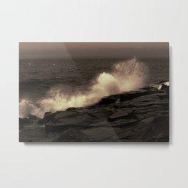 Abstract Splash Metal Print