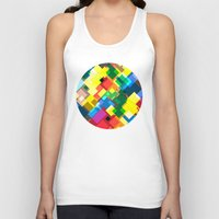 maps Tank Tops featuring Maps by Tony Vazquez