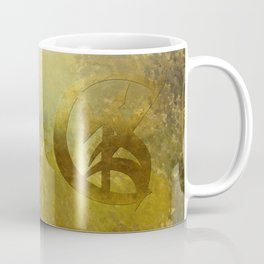 GOLD for a bride in her wedding gown. Shadowhunter Children's Rhyme. Coffee Mug