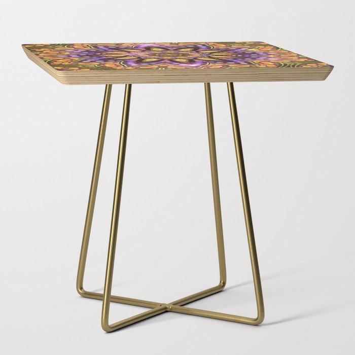 Bohemian Sun Side Table