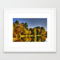 fishing Framed Art Prints featuring Fishing by Kent Moody