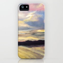 Summer Sunset Over Lake Winnipesaukee in New Hampshire iPhone Case