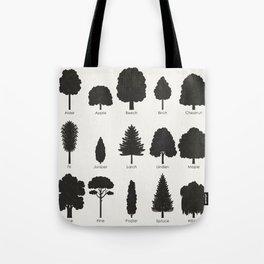 European Tree Species Tote Bag