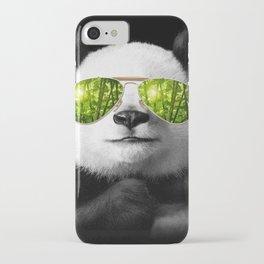 cool panda iPhone Case