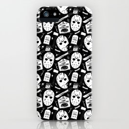 Welcome to Camp Crystal Lake! iPhone Case