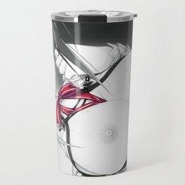 Red Ribbon IV Travel Mug