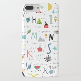 ABC iPhone Case