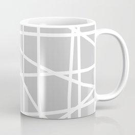 Doodle (White & Gray) Coffee Mug