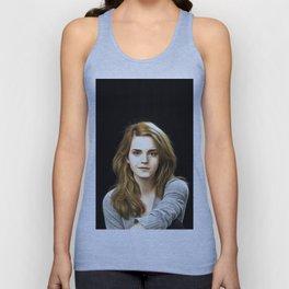Emma Watson - Celebrity Art Unisex Tank Top