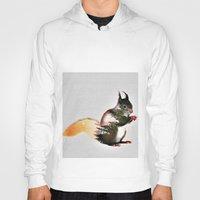 squirrel Hoodies featuring squirrel by KrisLeov