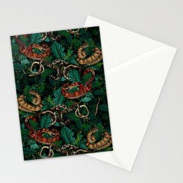 Dangers in the forest Stationery Cards