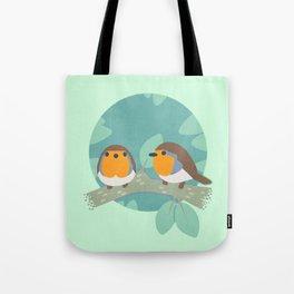 European Robins Tote Bag