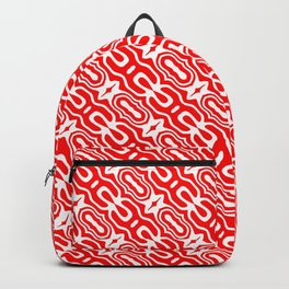 Candy Cane Pattern 1 Backpack