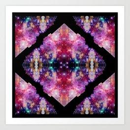 Cosmic Kaleidoscope Art Print