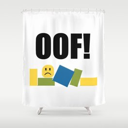 Roblox Oof Shower Curtain