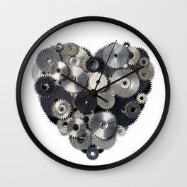 Mechanical heart Wall Clock