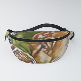 Water-color Trendy Animals Art Print Fanny Pack