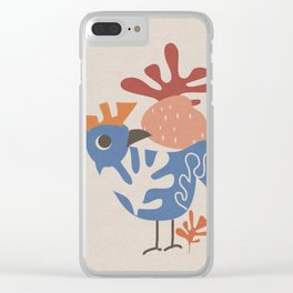 Wondering Rooster Clear iPhone Case