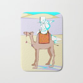Women of the Earth Series: Woman of the Dessert and Camel Bath Mat