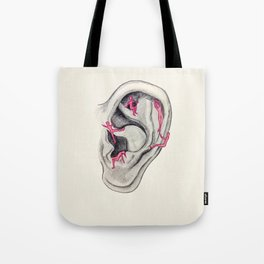 Relaxing voices Tote Bag